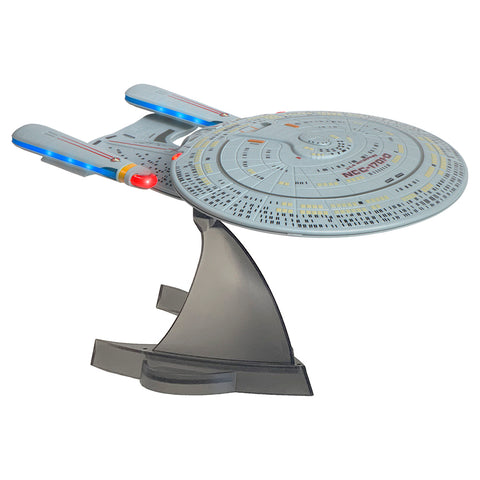 Star Trek TNG U.S.S. Enterprise NCC-1701-D Bluetooth® Speaker With Sleep Machine, LED's & Sound Effects