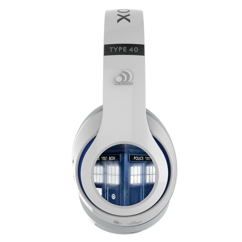 Doctor Who TARDIS Bluetooth® Headphones