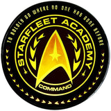 Star Trek Academy Qi Wireless Charger With Illuminated Command Logo & 8000mAh Backup Battery