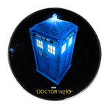Doctor Who TARDIS Qi Wireless Charger With Illuminated TARDIS & 8000mAh Backup Battery