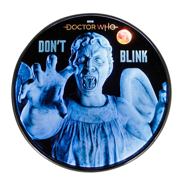 Doctor Who Weeping Angel Qi Wireless Charger With Illuminated Angel & 8000mAh Backup Battery
