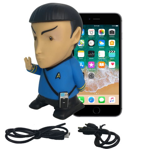 Star Trek: TOS - Mr. Spock Bluetooth® Figure Speaker with Sound Effects - Fametek Collectibles