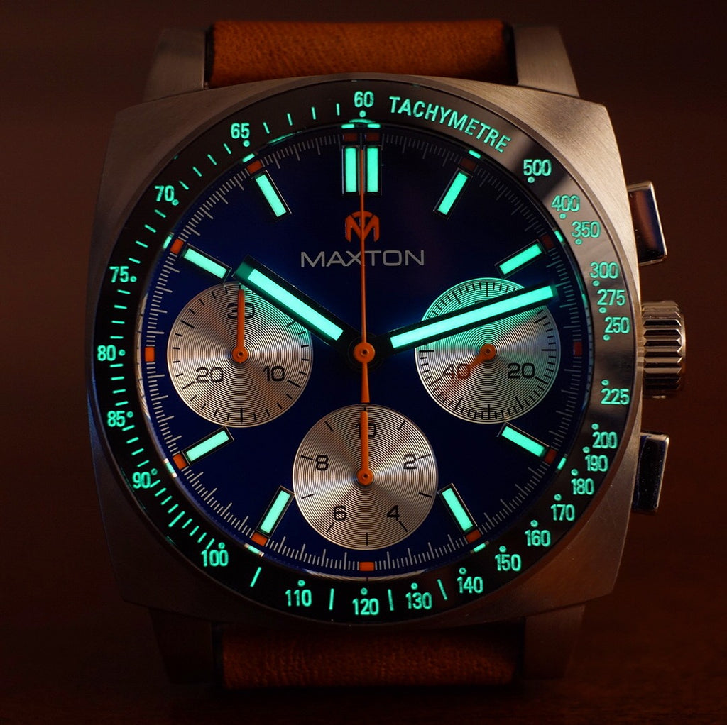 Maxton - Blue Dial - Stainless Steel Case