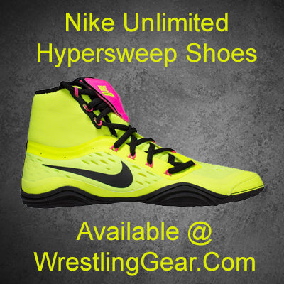 Nike Hypersweep Unlimited Wrestling Shoes