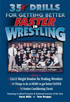 35 Plus Drills For Getting Better Faster In Wrestling (DVD)