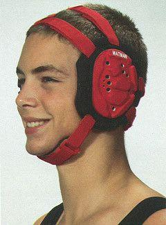 Matman Ultra Guard Headgear Red Black