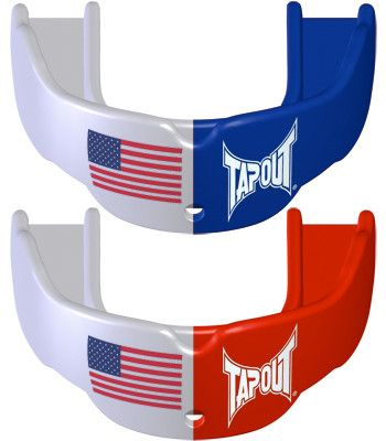 Tapout Mouthguards - 2 Pack Flag American