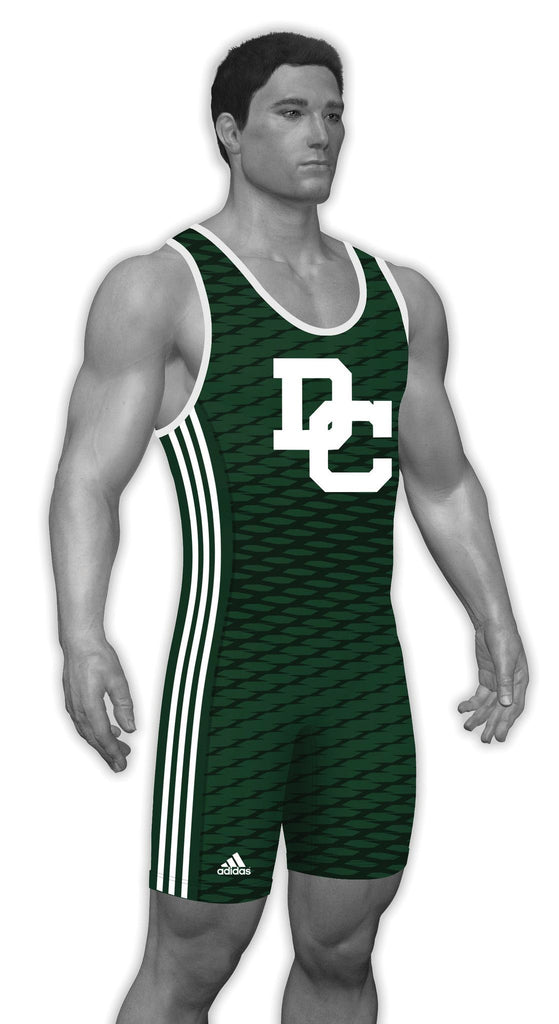 Adidas Sublimated Wrestling Singlets aS104c-19