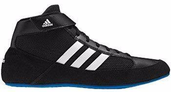 adidas HVC Blue Youth Retired Black White Blue Wrestilng Shoes