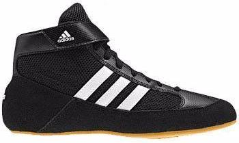 adidas HVC Black White Gum Wrestling Shoes