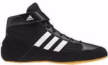 adidas HVC Youth Black white Gum Wrestling Shoes