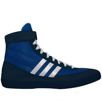 adidas Combat Speed 4 Royal White Navy Wrestling Shoes