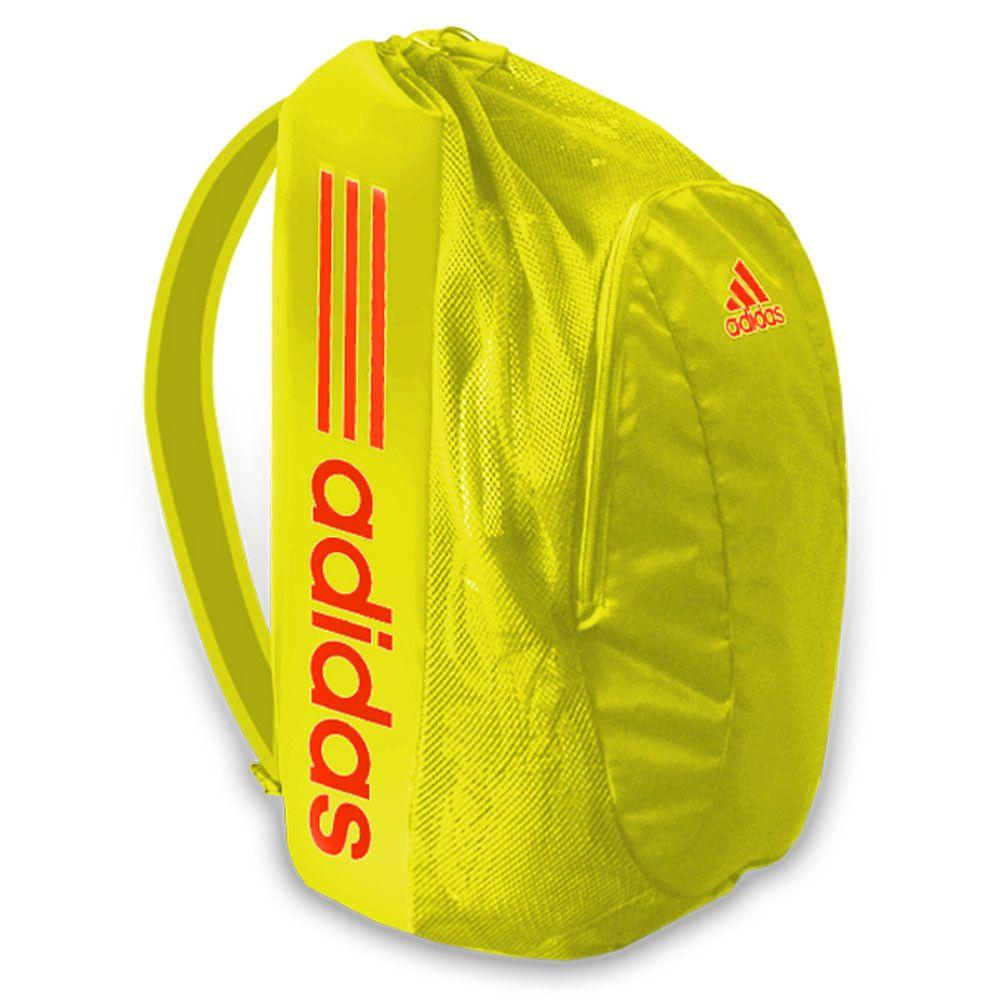 Adidas Gear Bag Solar Yellow Red