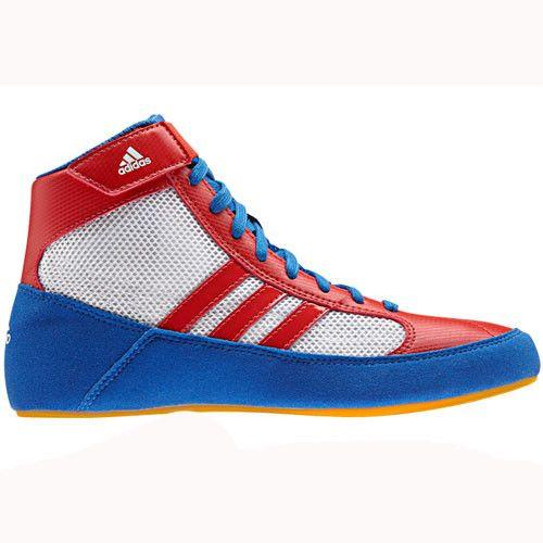 adidas HVC Blue Red White Wrestling Shoes