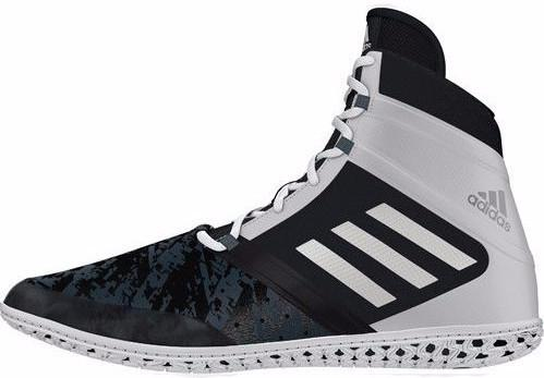 adidas Impact Black Silver White Wrestling Shoes