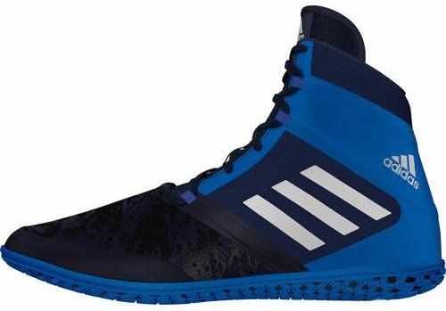adidas Impact Navy Silver Royal Wrestling Shoes