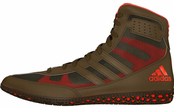 adidas Olive Green David Taylor Mat Wizard Wrestling Shoes