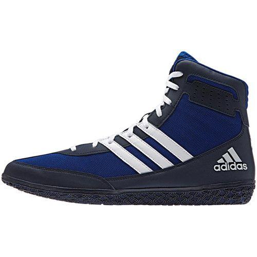 adidas Mat Wizard Royal Navy White Wrestling Shoes