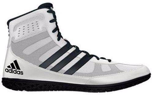 adidas Mat Wizard Wite Black Wrestling Shoes