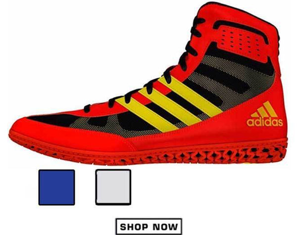 adidas Red Mat Wizard Wrestling Shoes Menu View