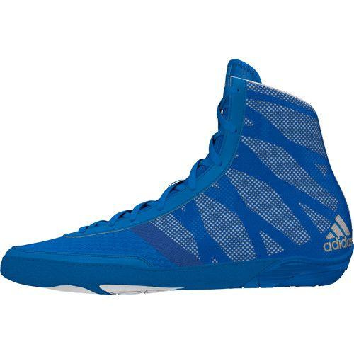 adidas Pretereo III Royal Silver White Wrestling Shoes