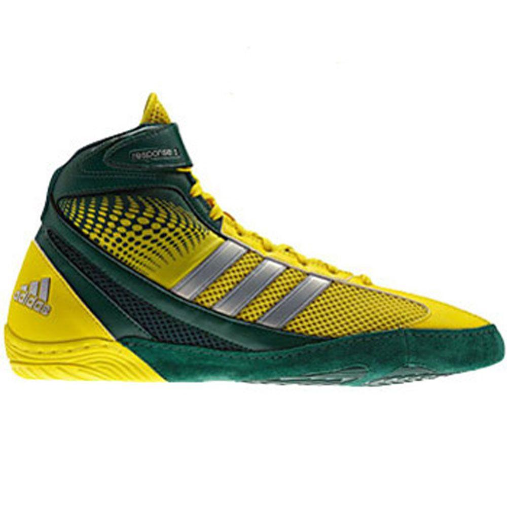 adidas Response 3.1 Forest Green Vivid Yellow Silver