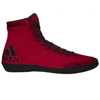 adidas adizero Varner Red Black Wrestling Shoes