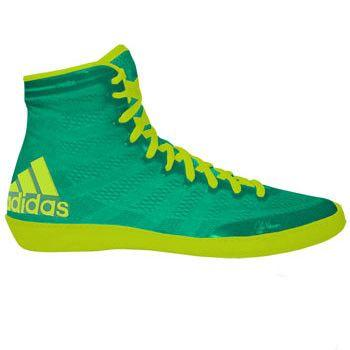 adidas adizero Varner Flash Lime Solar Yellow Wrestling Shoes
