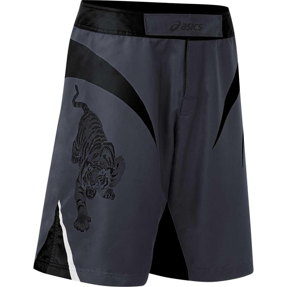 ASICS Bull Fight Shorts Black Grey 2