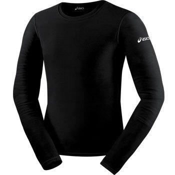 ASICS Long Sleeve Compression Top Black