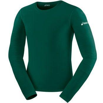 ASICS Long Sleeve Compression Top Hunter Green