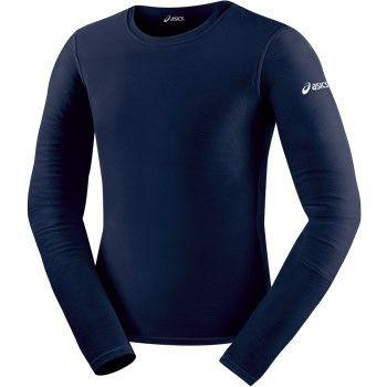 ASICS Long Sleeve Compression Top Navy