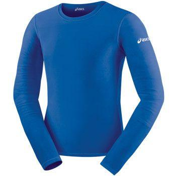 ASICS Long Sleeve Compression Top Royal Blue