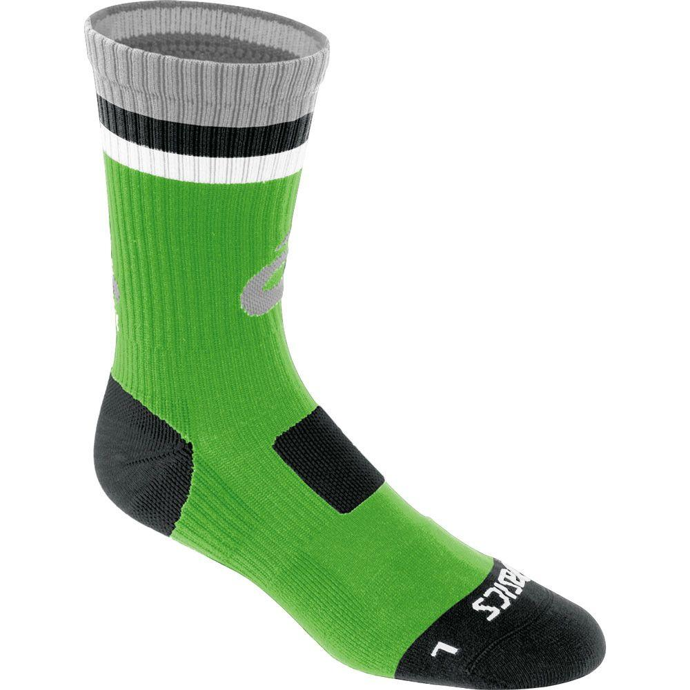 Asics Craze Crew Socks Lime Black