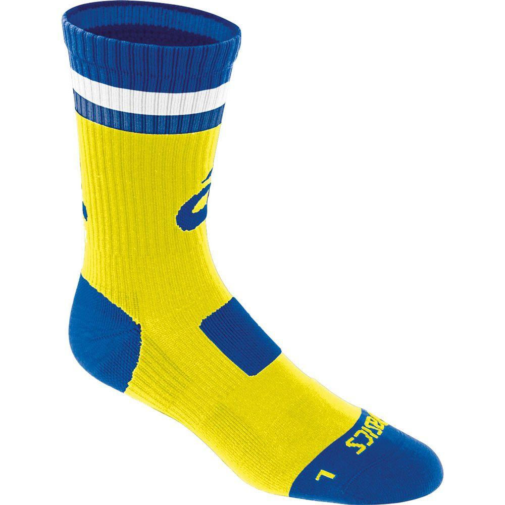 Asics Craze Crew Socks Neon Royal
