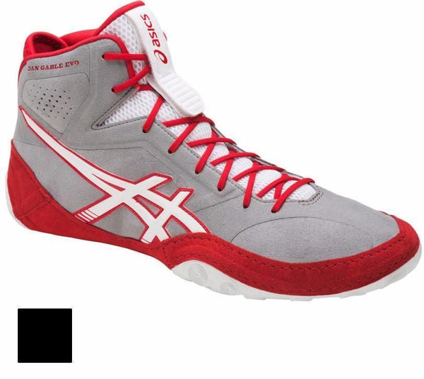 asics dan gable evo aluminum white red