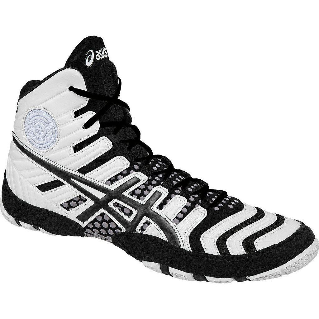 Dan Gable 4 Wrestling Shoes White and Black