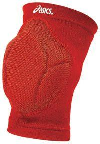 ASICS Unrestrained Kneepads Red