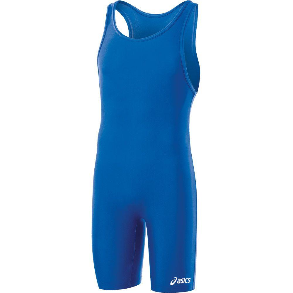 ASICS Solid Stock Modified Singlet Royal
