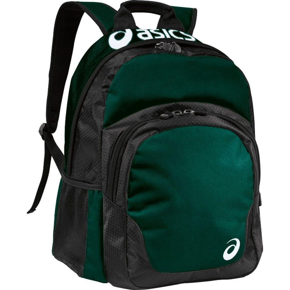 Asics Team Backpack Forest Green Black