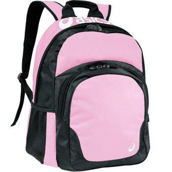Asics Team Backpack Pink Black