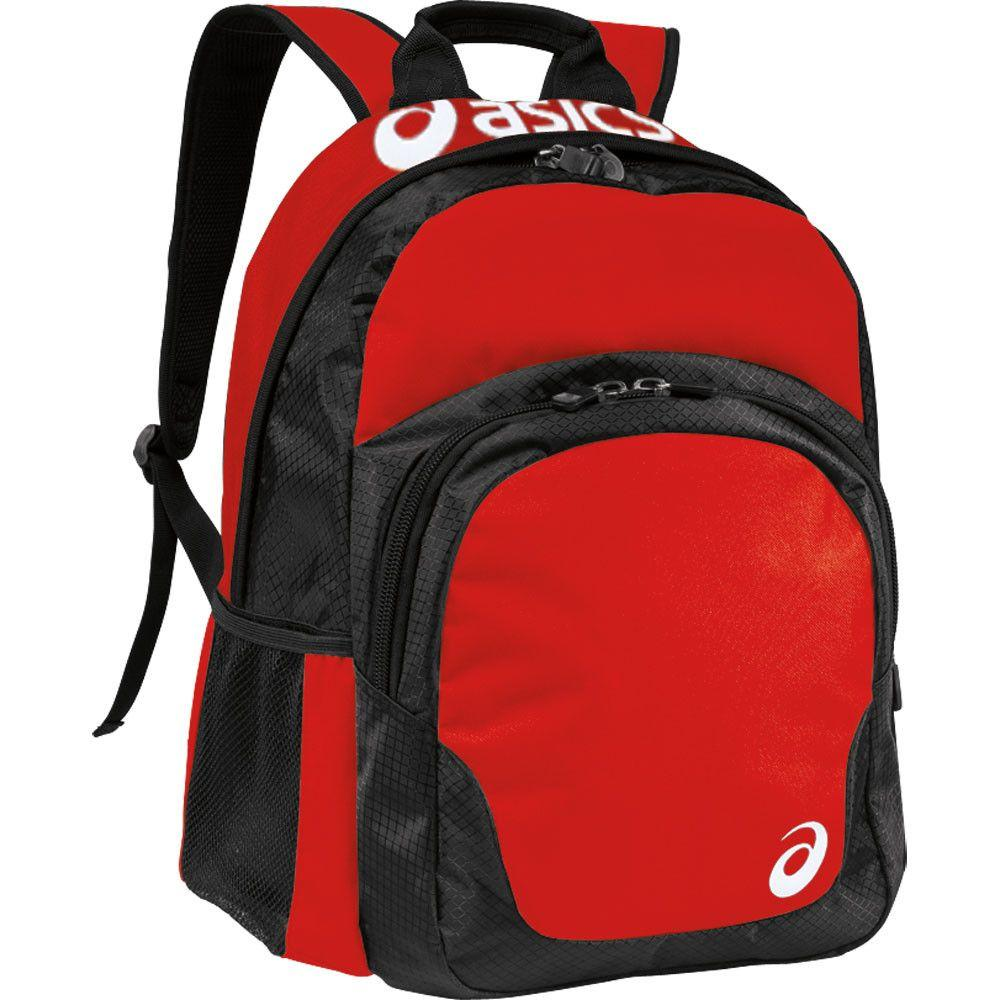 Asics Team Backpack Red Black
