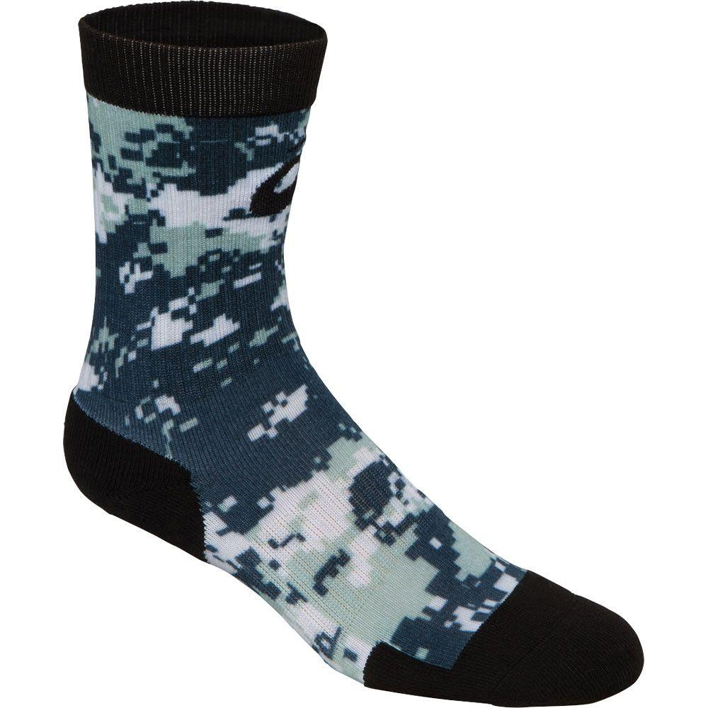 ASICS TM Camo Crew Sock Navy Steel Grey