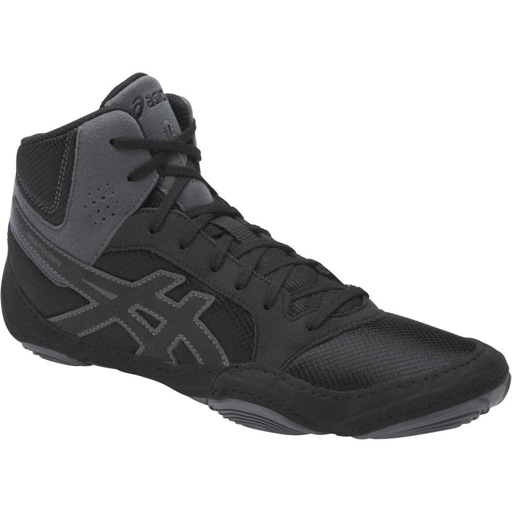 asics wrestling shoes snapdown 2 black carbon