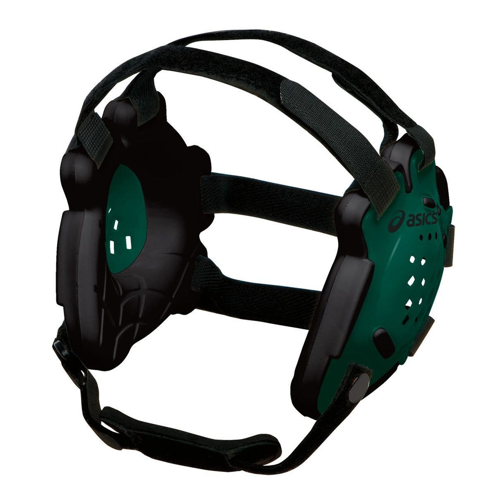 Asics Conquest Earguard Forest Green Black