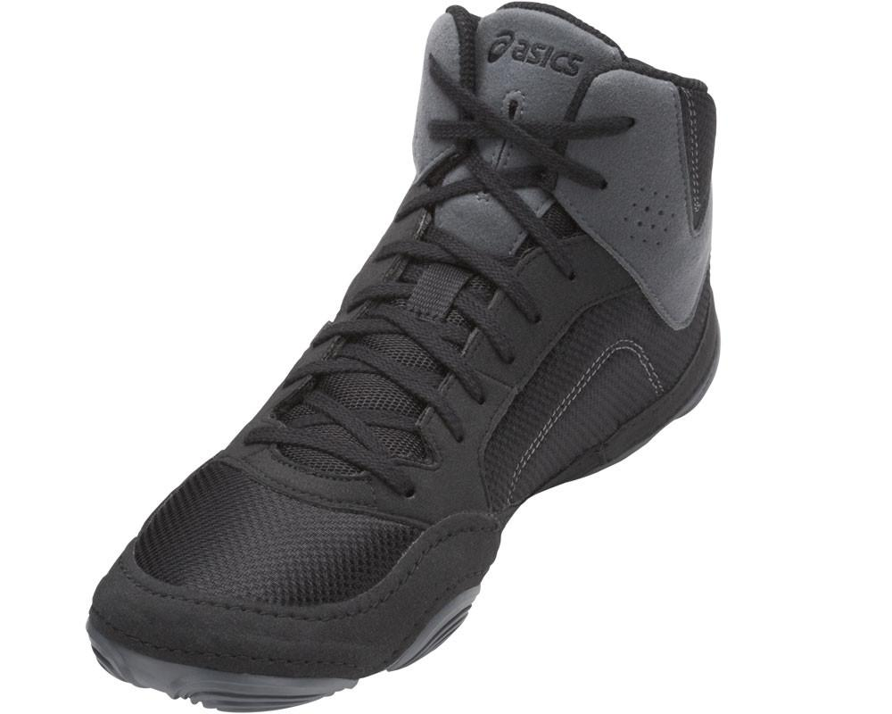 asics wrestling shoes snapdown 2 black carbon 3