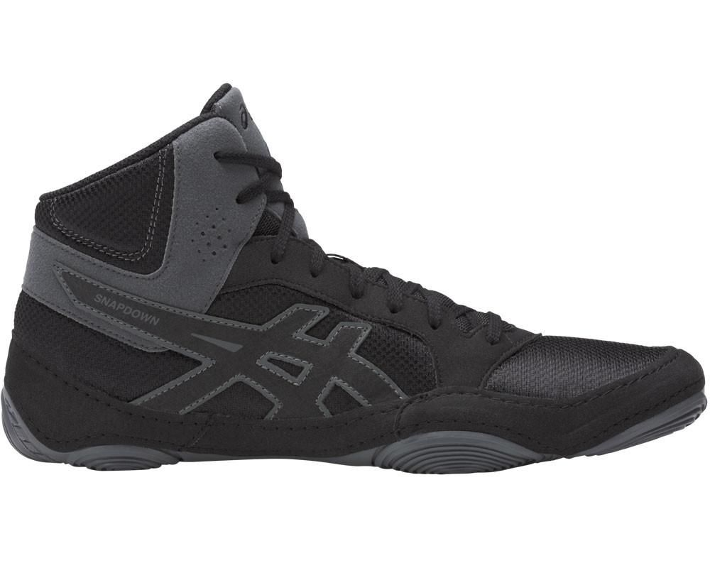 asics wrestling shoes snapdown 2 black carbon 6