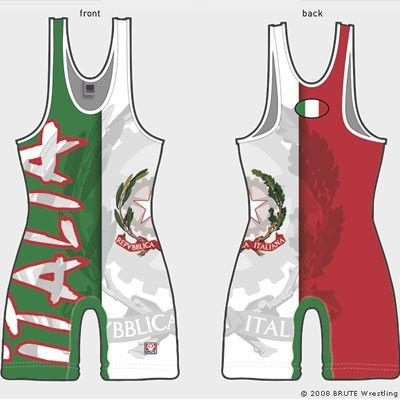 Brute Italy Sublimated Singlet