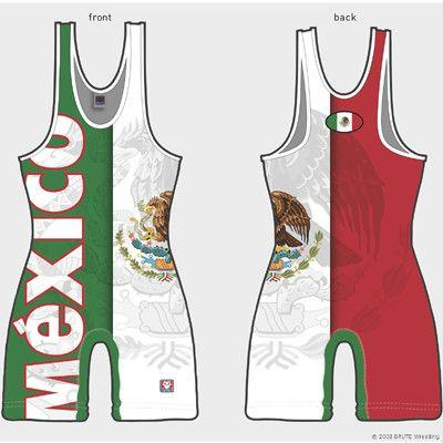 Brute Mexico Sublimated Singlet