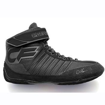 Cagefighter Revolution Combat Pro 1 Black Wrestling Shoes